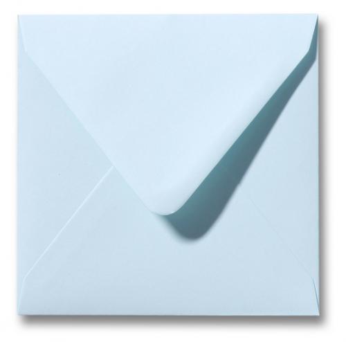 Envelop Lichtblauw 12x12cm