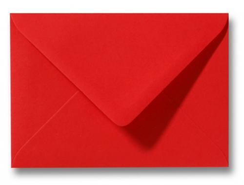 Envelop Koraal rood 12×18 cm