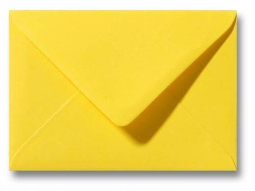 Envelop Boterbloem geel 12×18 cm