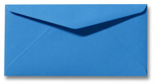DL envelop 11×22 cm Blauw
