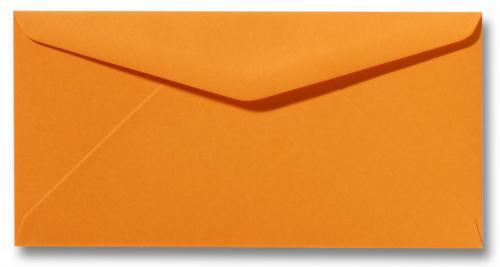 DL envelop 11×22 cm Fel oranje