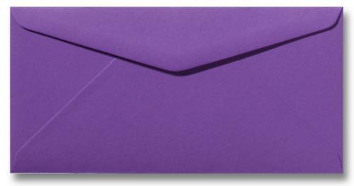 DL envelop 11×22 cm Violet
