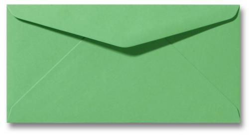 DL envelop 11×22 cm Grasgroen