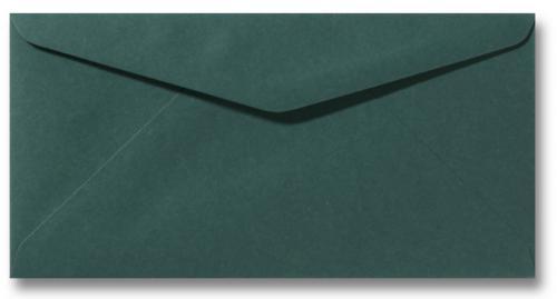 DL envelop 11×22 cm Donkergroen