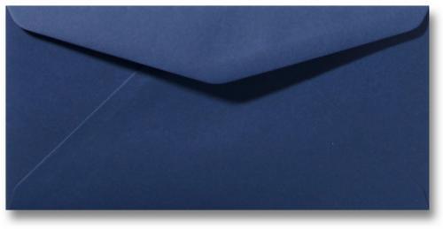 DL envelop 11×22 cm Donkerblauw
