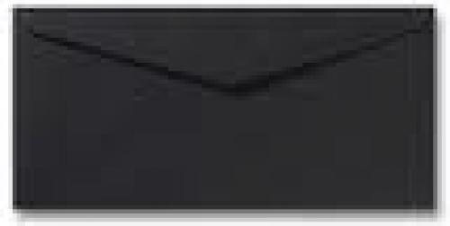 DL envelop 11×22 cm Zwart