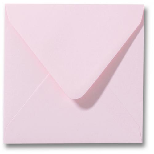 Envelop Licht Roze 12x12cm