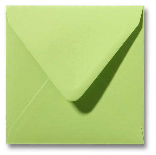 Envelop Kalkgroen 12x12cm