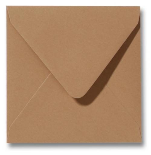 Envelop Kraft 16x16cm