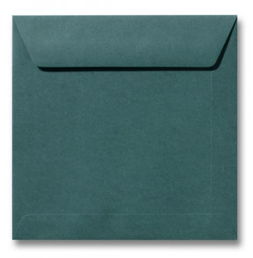 Envelop Donkergroen 17x17cm