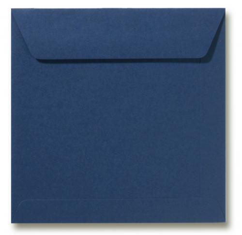 Envelop Donkerblauw 17x17cm