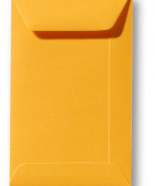 A4 envelop Goudgeel 22×31