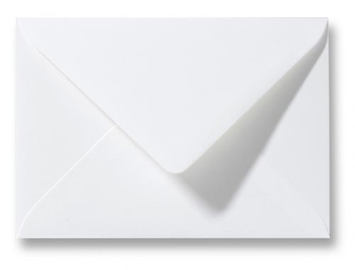 Envelop Wit 12,5×16,5 cm