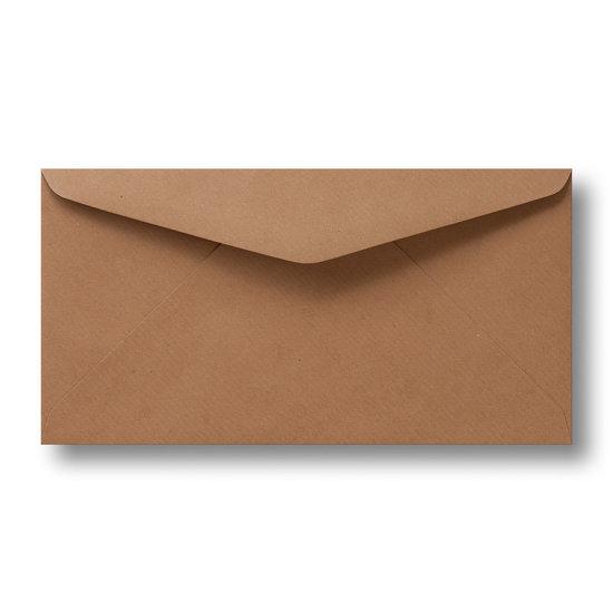 Kraft enveloppen bruin 11×21 cm