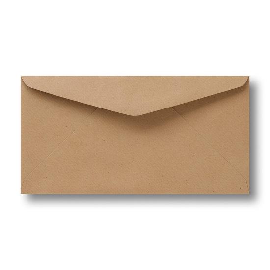 Kraft enveloppen licht bruin 11×21 cm