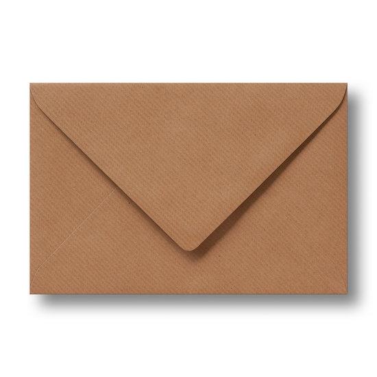 Kraft enveloppen bruin 13×18 cm