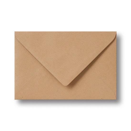 Kraft enveloppen licht bruin 13×18 cm