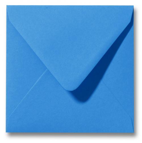 Envelop Blauw 12x12cm