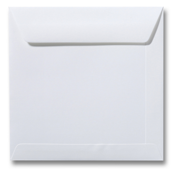 vierkante envelop biowit 10,5x10,5 cm