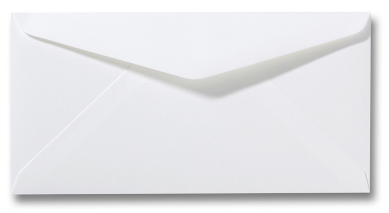 DL Envelop 11×22 cm Natuurwit