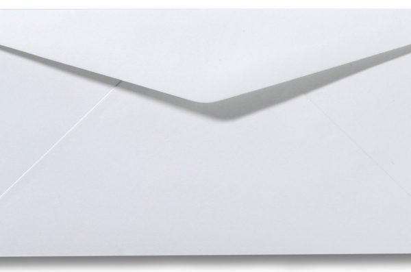 DL Envelop 11×22 cm Wit