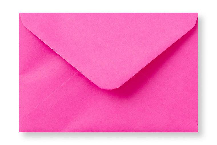 Knal roze 12x18 envelop
