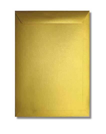 A4 Envelop Metallic Goud