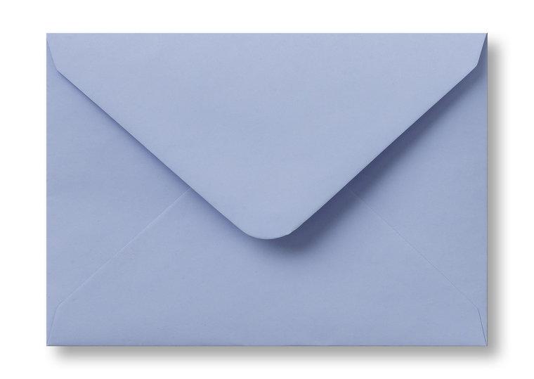 A5 Envelop Baby Blauw 15,6×22 cm