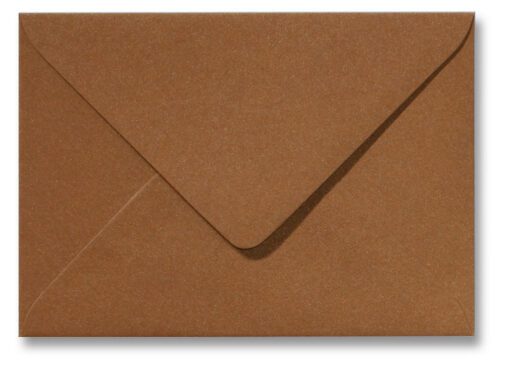 A5 envelop Metallic Brons 15,6×22 cm