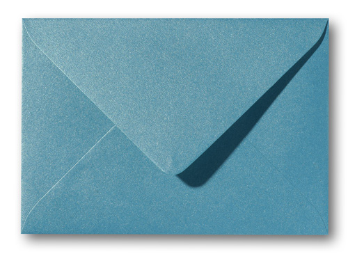 A5 envelop Metallic Curacao 15,6×22 cm