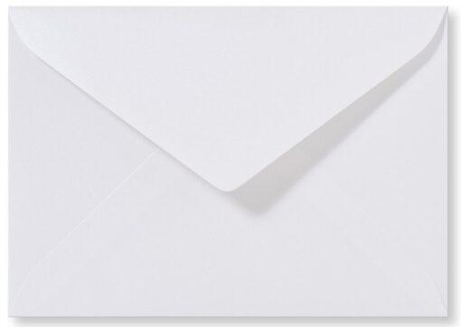 A5 envelop Metallic Extra Wit 15,6×22 cm