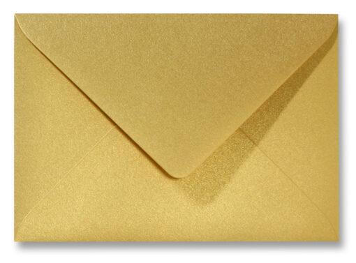A5 envelop Metallic Goud 15,6×22 cm