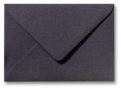 A5 envelop Metallic Grijs 15,6×22 cm