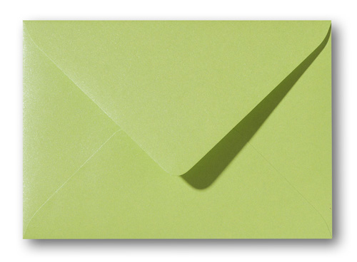 A5 envelop Metallic Groen 15,6×22 cm
