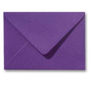 A5 envelop Metallic Paars 15,6×22 cm