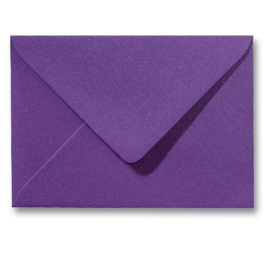 A5 envelop Metallic Paars