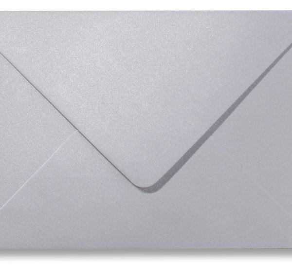A5 envelop Metallic Platinum