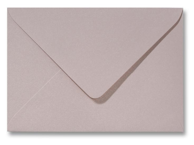 A5 envelop Metallic Roze