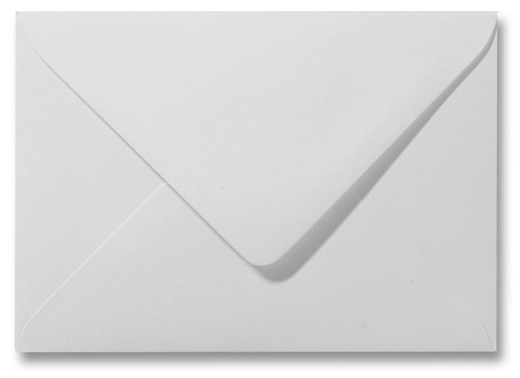 A5 envelop Metallic Wit