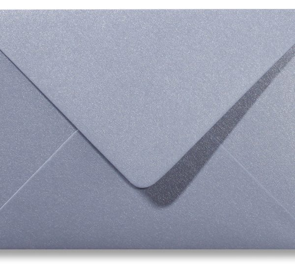 A5 envelop Metallic Zilver
