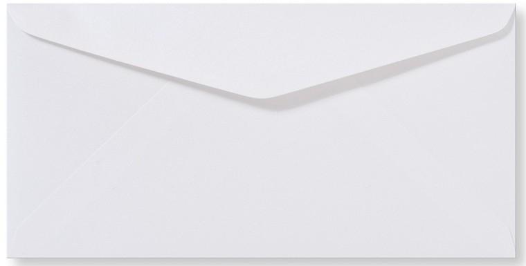 DL Envelop 11×22 cm Metallic Wit