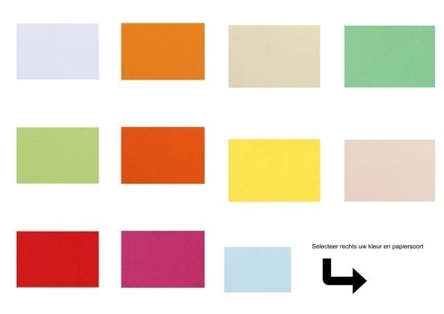Gekleurd Papier A4 Normaal Overzicht