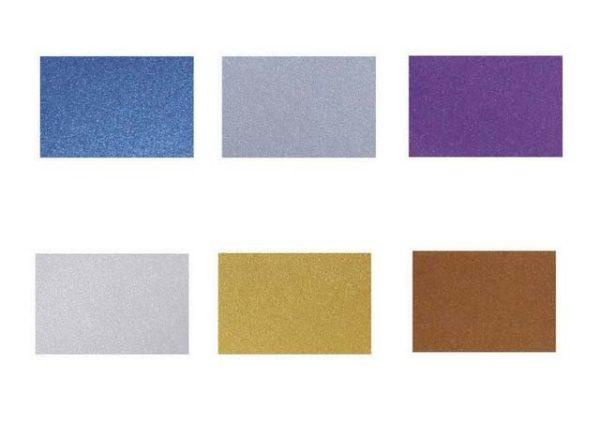gekleurd metallic A4 papier 120 gram