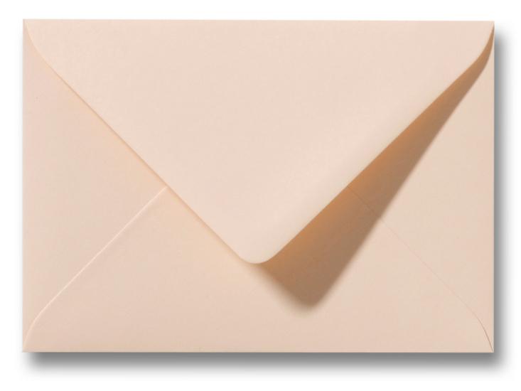 A6 Envelop Abrikoos 11x15,6 cm