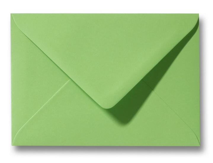 A6 Envelop Appelgroen 11x15,6 cm