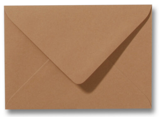 A6 Envelop Bruin 11x15,6 cm