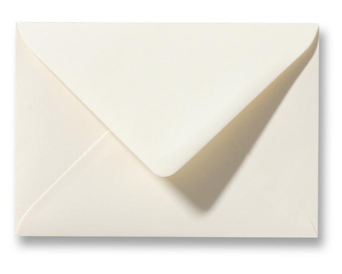 A6 Envelop Ivoor 11x15,6 cm