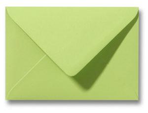 A6 Envelop Kalkgroen 11x15,6 cm