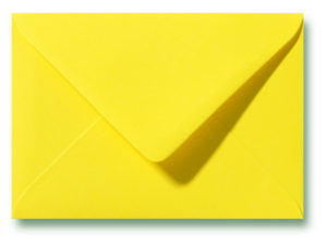A6 Envelop Kanariegeel 11x15,6 cm