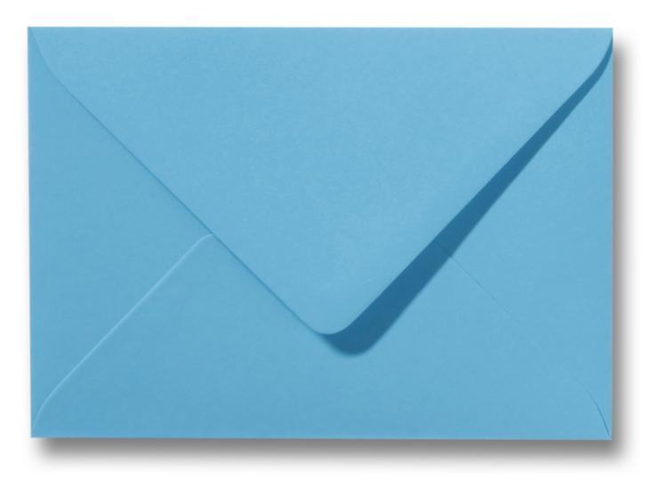 A6 Envelop Oceaan Blauw 11x15,6 cm